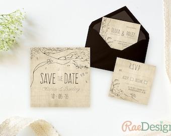 Rustic Disney Invite Etsy - Wedding invitation templates: disney wedding invitation templates