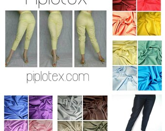 1950s style cigarette pants, true vintage fit. Made to order. 18 colours!!