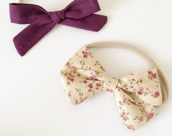 Perfectly Purple Bow Set