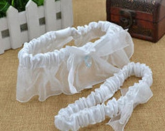 Dahlia - Glamorous Bling Bridal Wedding Garter