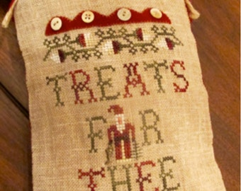 Treats For Thee ~ Cross Stitch Pattern Only