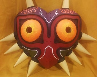 Majora's Mask CLEARANCE - Wearable cosplay mask - Skullkid's mask