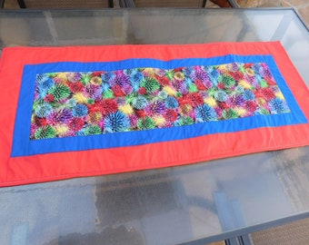 4th of July Fireworks Table Runner