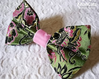 "Luxury Cat Bow Tie Bowtie for Cats and Dogs ""The Kensington"""