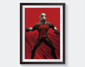 Ant-Man Avengers Original Art, Marvel Studios Poster Print Wall Art, Digital Download High Quality Poster For Wall Decor