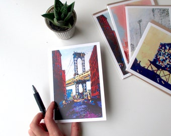Cards: DUMBO Brooklyn (Set of 5)