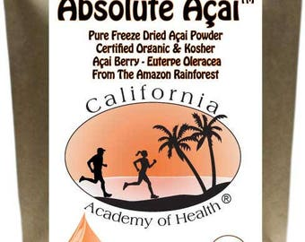 Acai Powder 100 Percent Pure Organic