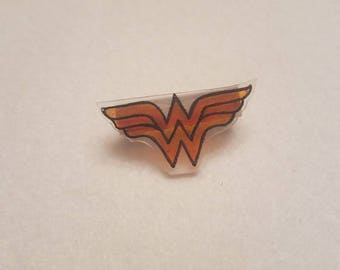 Wonder Woman inspired pin