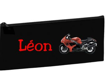 Black School Kit bike personalized with name