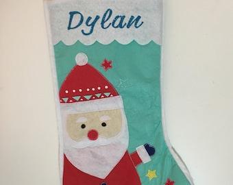 Customised Santa Stocking