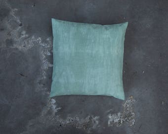 Frey // Pillow // One of a kind // Handmade // Green