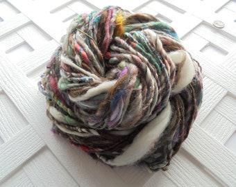 A DANGEROUS BUSINESS - Handspun Art Yarn, LOTR Yarn, Super Bulky Yarn, Soft Luxury Yarn, Adventure Yarn, Novelty Yarn, Angora, Alpaca, Silk