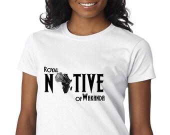 Wakanda Native Women's Short Sleeve Tee
