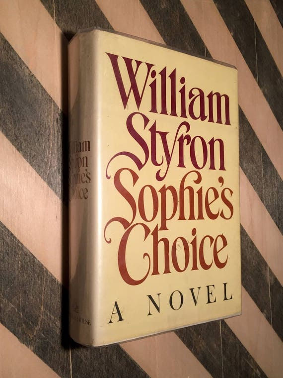 Sophie's Choice by William Styron (1979) first edition book