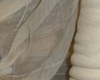 Hope Jacare - Natural loomstate cotton scrim