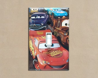 Disney Cars #2 - Light Switch Plate Covers Home Decor Outlet