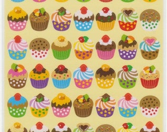 Cupcake Stickers - Sweets Stickers - Reference C3651-53C3792-93C3896-98C5138-39