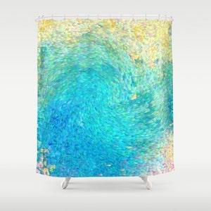 Ocean Shower Curtain Etsy