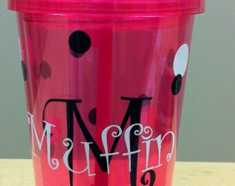 Personalized Tumbler Cup Glass