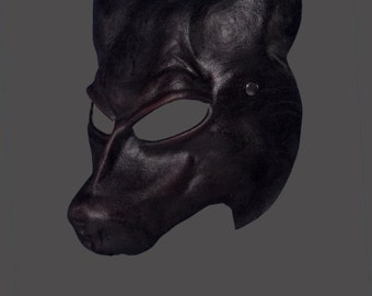 Leather Mask | Leather Wolf