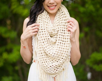 The Boho Crochet Wrap Pattern