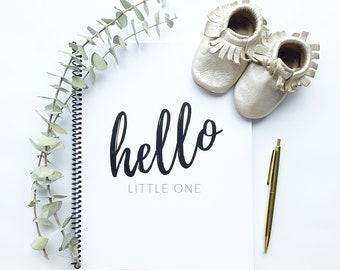 Baby Book   Modern Baby Album, Baby Journal, Gender Neutral, Baby Shower Gift, Scrapbook, Baby Boy, Baby Girl, Pregnancy Journale