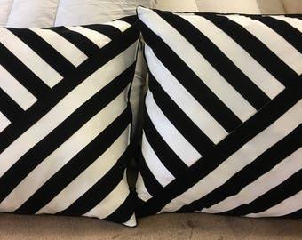 Modern and elegant pillows