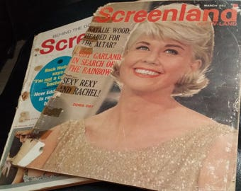 Screenland - 1960s- Damaged - Great for clipping