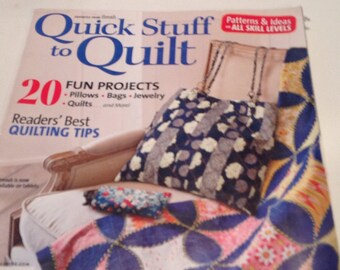 Quick stuff to Quilt magazine