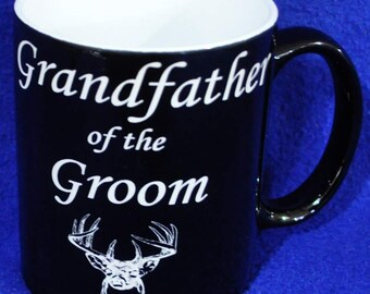 Grandfather Of The Groom Gift ~ Custom Coffee Mug ~ Coffee Mug ~ Custom Gift For Godfather ~ Grandfather Of The Bride ~ Gift For Uncle ~