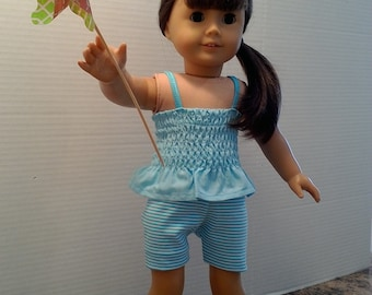 "18"" summer doll clothes for dolls like AG  New Generation etc."