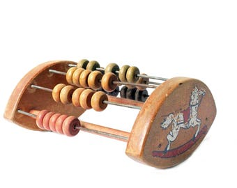 Vintage Child Abacus