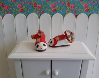 Red shoes for BLYTHE/Pullip/Pure Neemo