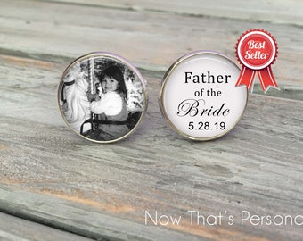 Father of the Bride Gift from Bride - Father of the Bride Gift Ideas- Father of the Bride cufflinks - Father of the Bride Gifts