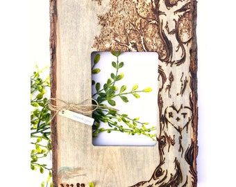 Custom Burned Tree Frame. Farmhouse Decor. Family Tree. Tree of Life. Mothers Day. Mothers Day Gifts. Gifts for mom. Gifts for her. Custom.