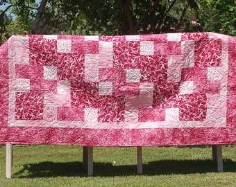Pink Ribbon Quilt
