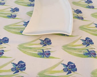 Iris Table Runner, Home & Living Purple, Turquoise, and Lime Green Table Decorations!