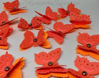 3-D Butterfly Confetti
