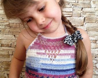 Crochet toddler baby top