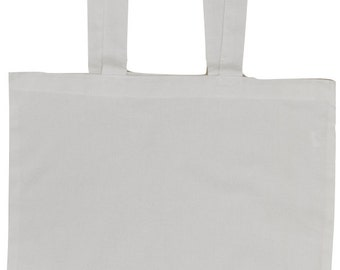 White Cotton Tote