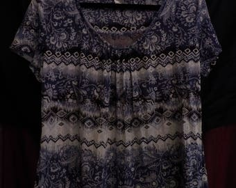 Grunge Clothing Grunge Shirt 90s Grunge - Womens Grunge-style Bleached Sun-faded shirt