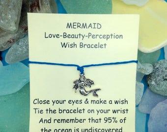 Mermaid Charm String Bracelet