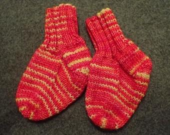 Hand-Made Baby Socks