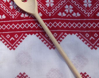 Housewarming gift Rustic Kitchen Décor Wooden spoon Hostess gift foodie gift Thank you gift Kitchen utensils Cooking gift under 20 Chef gift