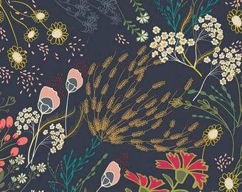 Art Gallery Fabric Indie Folk Meadow in Dim, Choose your cut