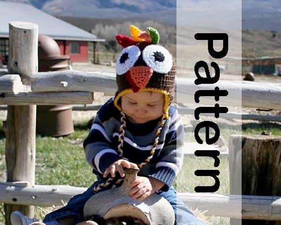 Baby Turkey Hat Pattern Baby Boy Hat Pattern Crochet Hat