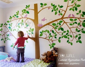 Children Wall Decal Wall Sticker Art - Giant Tree Wall Decal - 064