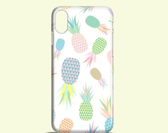 Pastel Pineapples phone case / pastel iPhone X case / iPhone 8 / iPhone 7 / iPhone 7 Plus / iPhone 6 / iPhone 5/5S, Se / Samsung Galaxy S6