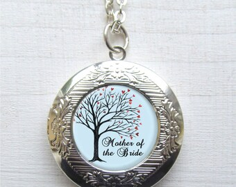 Photo Locket, Mother Of The Bride Necklace