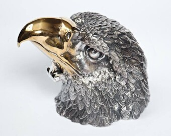 "Silver Jewelry box ""Eagle"""